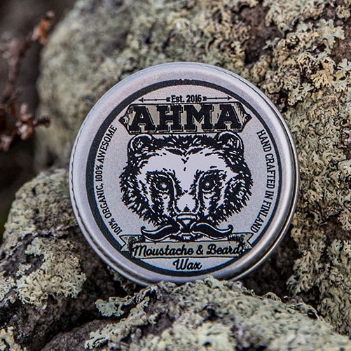 Ahma Moustache and beard wax