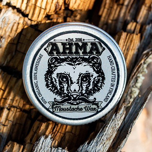 Ahma moustache wax